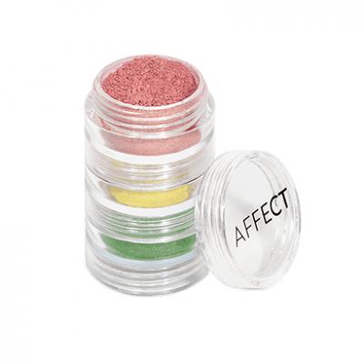 Рассыпчатые тени в наборе Charmy Pigment Loose Eyeshadows Set Affect N-0001 Indian spices: фото
