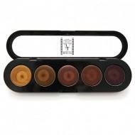 Палетка помад, 5 цветов Make-Up Atelier Paris №23 античная жемчужина 10 г: фото