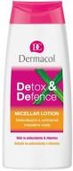 Мицеллярная вода Dermacol Detox & defence micellar lotion: фото