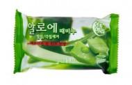 Мыло-скраб с алоэ JUNO Sangtumeori peeling soap aloe 150 мл: фото