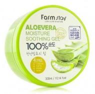 Отзывы Гель с экстрактом алое вера FARMSTAY Aloe vera moisture soothing gel 300 мл