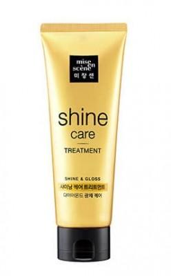 Восстанавливающая маска для блеска волос MISE EN SCENE Shining Сare Тreatment: фото