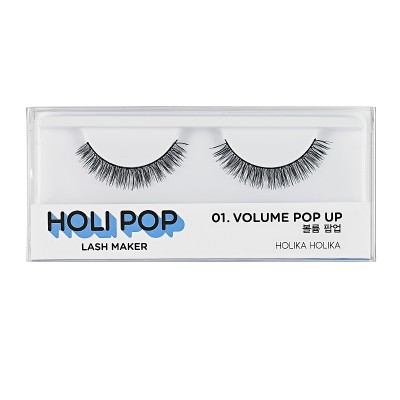 Накладные ресницы HOLI POP LASH MAKER 01 VOLUME POP UP: фото