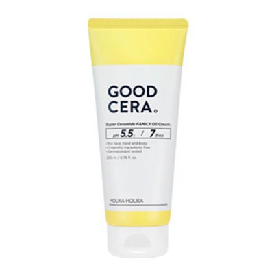 Крем для лица и тела универсальный Holika Holika Good Cera Super Ceramide Family Oil Cream 200мл: фото