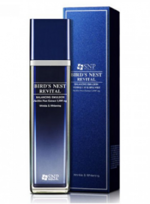 Балансирующая эмульсия SNP Bird's nest revital balancing emulsion 150 мл: фото