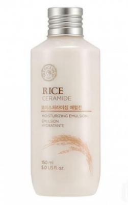 Эмульсия увлажняющая с рисом и керамидами THE FACE SHOP Rice&ceramide moisturizing emulsion 150 мл: фото