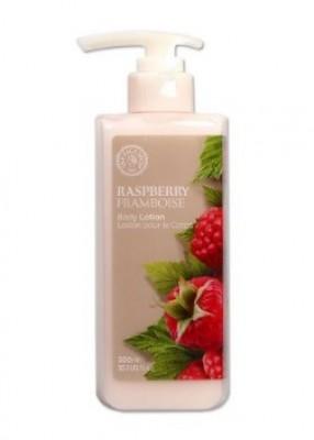Лосьон для тела с малиной THE FACE SHOP Raspberry body lotion 300 мл: фото