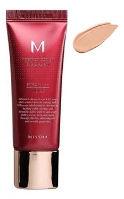 Тональный крем MISSHA M Perfect Cover BB Cream SPF42/PA+++ No.21/Light Beige 20ml: фото
