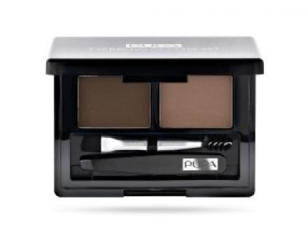 Набор для бровей PUPA Eyebrow Set т.02 коричневый: фото