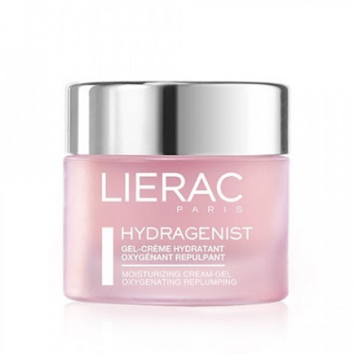 Гель-крем кислородный увлажняющий Lierac Hydragenist Moisturizing Gel-Cream oxygenating replumping 50мл: фото
