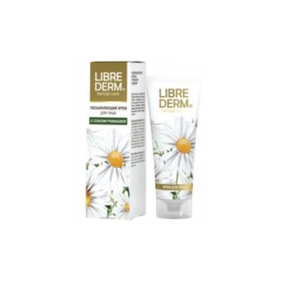 Крем увлажняющий для лица с ромашкой LIBREDERM Herbal Care 75 мл: фото