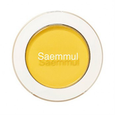 Тени для век матовые THE SAEM Saemmul Single Shadow Matte YE03 Lemon Candy Yellow 1,6гр: фото