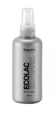 Лак жидкий Эколак Kapous Styling Ecolac Extrafix 100мл: фото