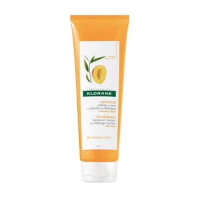 Крем питательный несмываемый для волос с маслом Манго Klorane Dry Hair 125 мл: фото