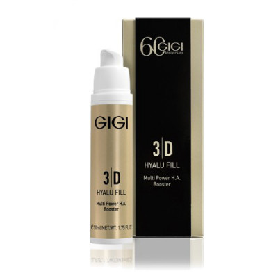 Крем-филлер с гиарулдоновой кислотой GIGI 3D Hyalu Fill Multi Power H.A. Booster 50мл: фото