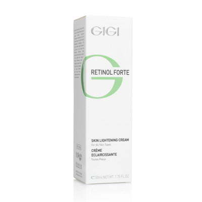 Крем отбеливающий GIGI Retinol Forte Skin Lightening Cream 50 мл: фото