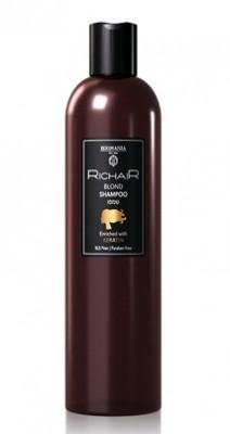 Шампунь для осветлённых и обесцвеченных волос c Кератином Egomania RicHair Blond 400мл: фото