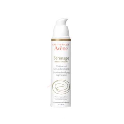 Крем ночной от морщин для зрелой кожи Avene Serenage 40 мл: фото