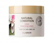 Крем очищающий лотос THE SAEM NATURAL CONDITION Lotus Cleansing Cream N2 300мл: фото