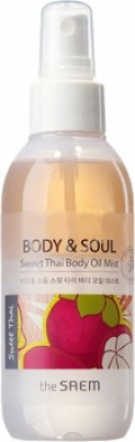 Мист для тела THE SAEM Body&Soul Sweet Thai Body Oil Mist 150мл: фото