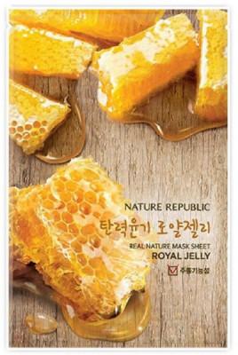 Маска для лица листовая NATURE REPUBLIC REAL NATURE ROYAL JELLY MASK SHEET 20мл: фото