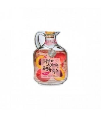 Маска тканевая фруктовая Baviphat Peach Juicy Mask Sheet Vital & Lifting: фото
