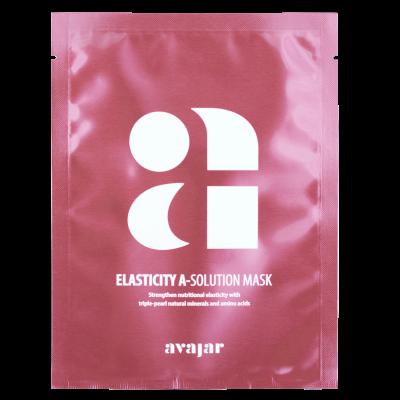 Маска тканевая для повышения эластичности кожи Avajar Elasticity A-Solution Mask 10 шт: фото