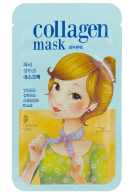 Маска тканевая коллагеновая лифтинговая FASCY SCARF Tina Collagen Mask 26г: фото