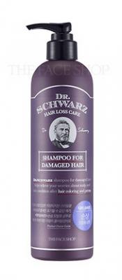 Шампунь для поврежденных волос The Face Shop Dr.Schwarz Damaged Hair Shampoo 380 мл: фото