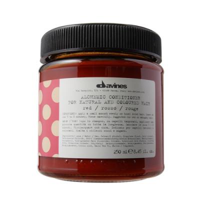 Кондиционер АЛХИМИК для натуральных и окрашенных волос Davines ALCHEMIC CONDITIONER for natural and coloured hair красный 250мл: фото