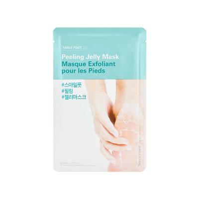 Макса-пилинг для ног желейная The Face Shop Smile Foot Peeling Jelly Mask 40 мл: фото