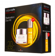 Набор Skincode Exclusive Restoration Duo: Антивозрастной крем 50мл + Ночное восстанавливающее масло 30мл: фото