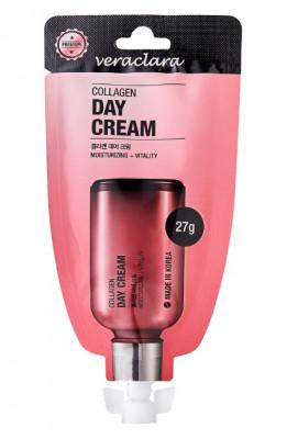 Крем дневной с коллагеном Veraclara Collagen Day Cream 27г: фото