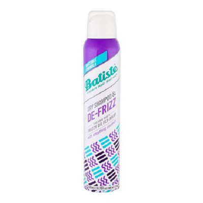 Сухой шампунь для непослушных и вьющихся волос Batiste DE-FRIZZ 200 мл: фото