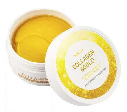 Гидрогелевые патчи для области вокруг глаз с коллагеном и коллоидным золотом KOELCIA Collagen & Gold Hydrogel Eye Patch 60 шт: фото